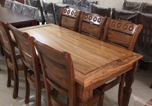 Bàn ăn gỗ tự nhiên - Đồ gỗ Thanh Hóa