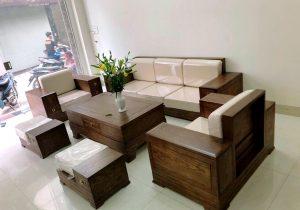 sofa gỗ thanh hoá